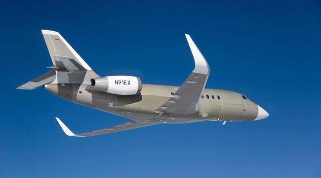 Falcon 2000 Winglets Aviation Partners