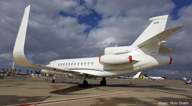 Falcon 900 Winglets Aviation Partners