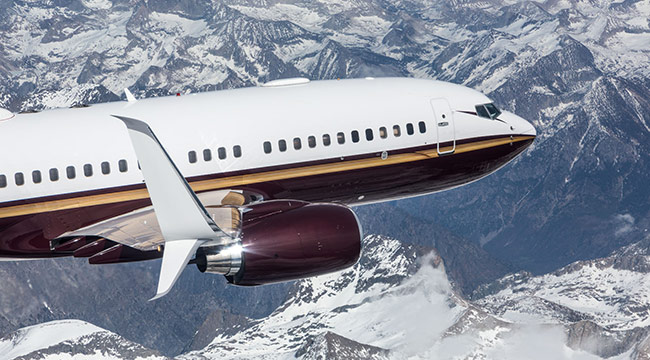Boeing Business Jet - Split Scimitar Winglet- Aviation Partners