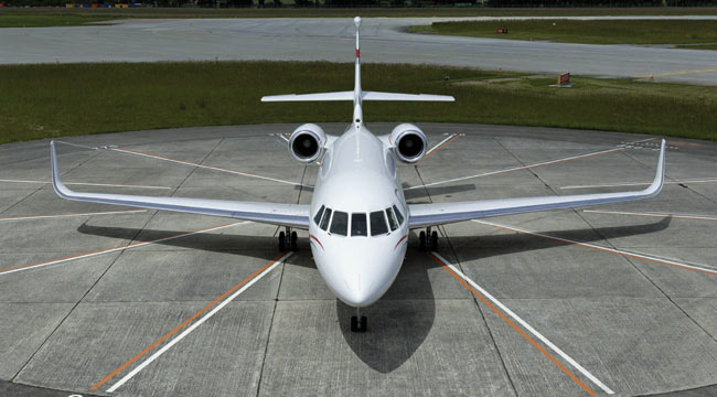Falcon 2000LX Winglets Aviation Partners